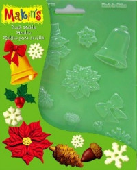 "Makin's Push Molds ""Christmas Nature"""