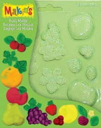 "Makin's Push Molds ""Fruits"""