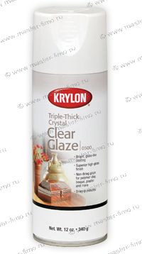 Krylon Triple-Thick Crystal Clear Glaze лак-аэрозоль (0501) 170 гр.